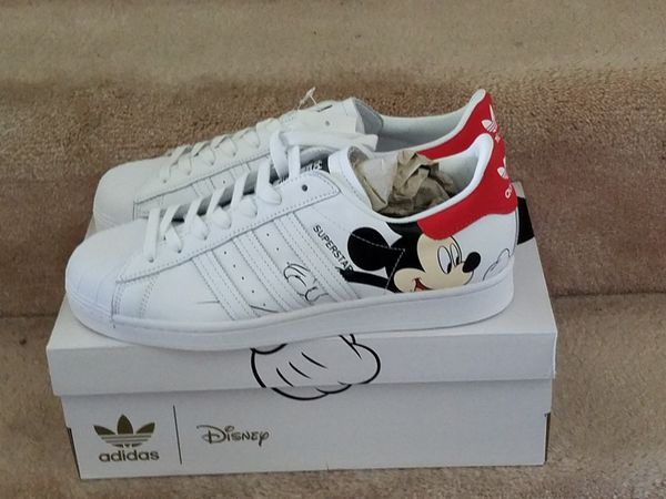 Size 10 Adidas Stan Smith Mickey Mouse