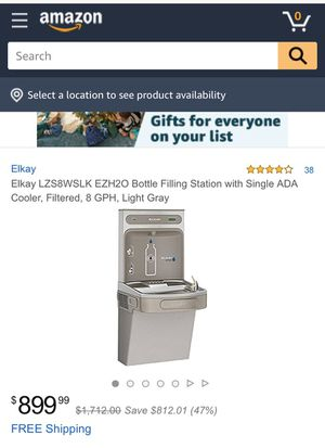 Elkay Drinking Fountain LZS8WSL for Sale in Monroe, OH