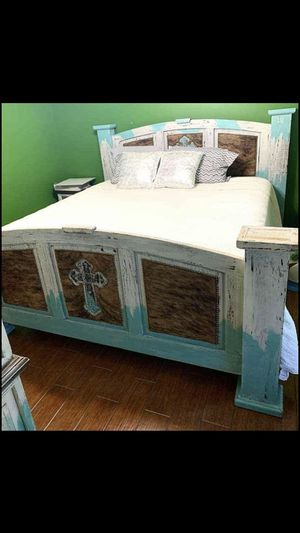 Custom king size bed for Sale in Gilmer, TX