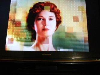32-inch TV With Built-in DVD Player Sylvania for Sale in Auburn,  WA