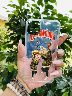 Brand new cool iphone 11 PRO MAX 6.5 cover phone case rubber silicone rick and morty girls guys womens mens hypebeast hype fundas for Sale in San Bernardino, CA
