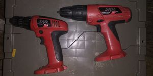 Skill 14.4 volt drill & hammerdrill. DRILLS ONLY. for Sale in Texas City, TX