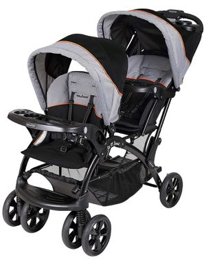 Baby Trend Sit and stand double stroller for Sale in Clovis, CA