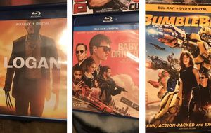Bumblebee, Logan, and Baby Driver Bundle for Sale in Gardena, CA