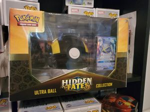 Pokemon Trading Card Ultra Ball Hidden Fates Collection Shiny Metagross GX Set for Sale in North Bergen, NJ