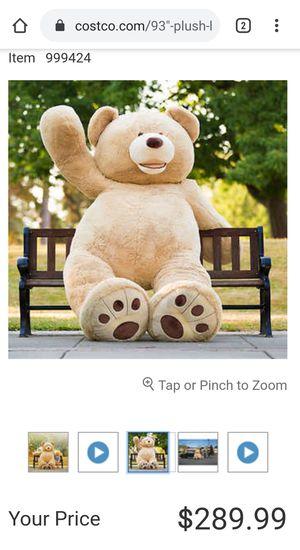 Costco Giant teddy bear for Sale in Garden Grove, CA