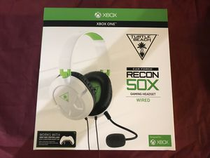 Turtle Beach Ear Force Recon 50X NEW Gaming Headset Headphones - Xbox One White for Sale in San Diego, CA