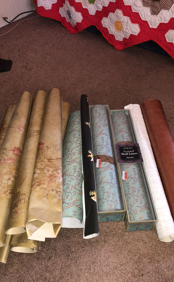 Wall paper and shelve liners