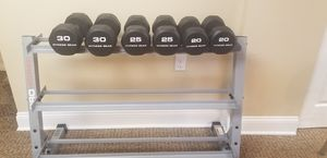 Weight Rack and weight pictured for Sale in McKees Rocks, PA