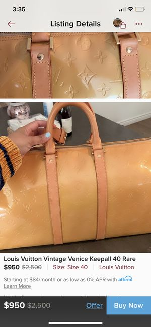 Louis Vuitton vintage Venice keepall 40 rare for Sale in Irving, TX