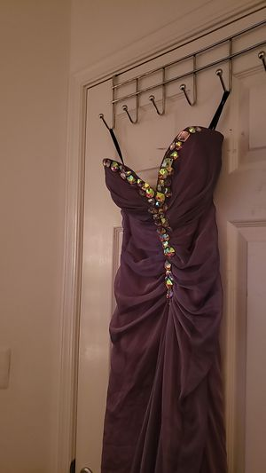A long purple prom dress for Sale in Washington, DC
