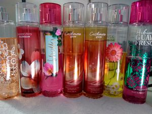7 used. Bath and body sprays for Sale in Las Vegas, NV