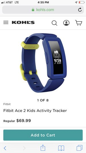 Fitbit Ace 2 for Kids, activity tracker. Brand new in box! Never opened. for Sale in Cypress, TX