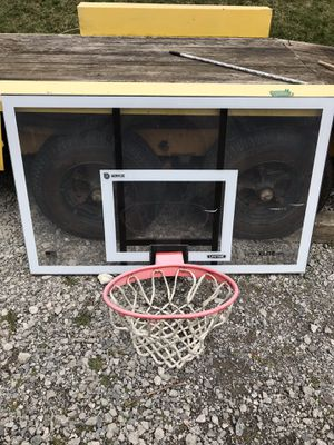 Basketball hoop and backboard for Sale in Baden, PA