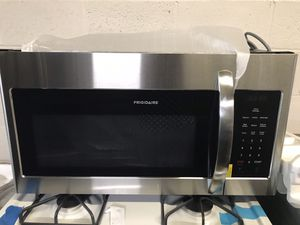 Microwave over the range Frigidaire stainless steel 6 months warranty for Sale in Halethorpe, MD