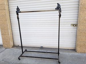 Welded clothing rack for Sale in Pomona, CA