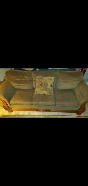 Couch ,and Love Seat with foot couch to match !!!!!! for Sale in Morrow, GA