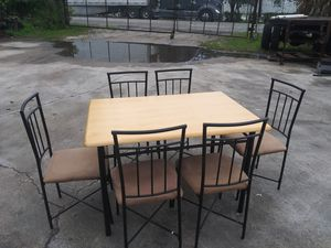 Table and (7) chairs for Sale in Greenacres, FL