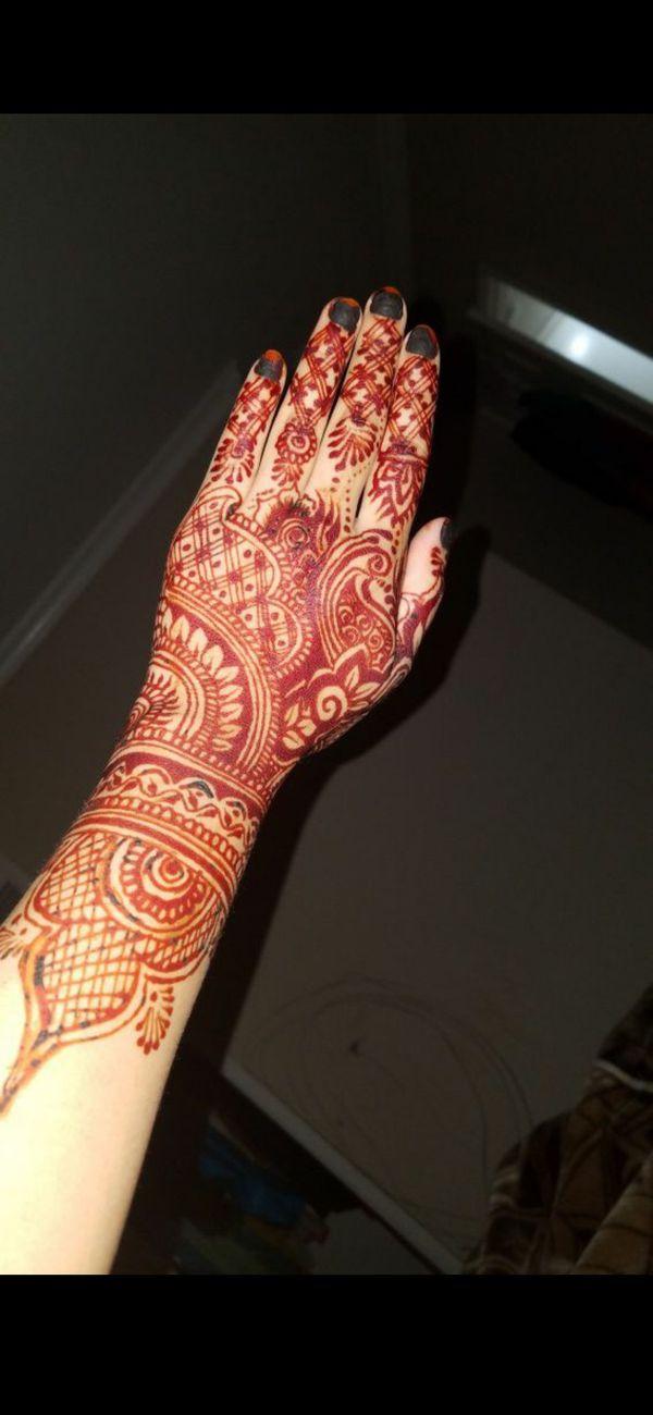 Henna for diwali...