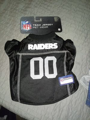 Dogs raiders jersey small for Sale in Fresno, CA