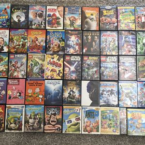 Huge Family Kids DVD Lot Kids DVD Family Movies for Sale in Fontana, CA