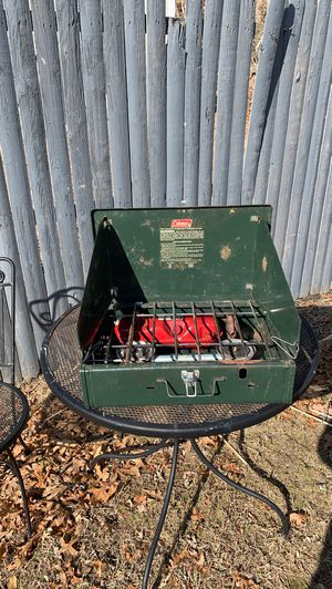 Coleman gas camping grill for Sale in East Douglas, MA