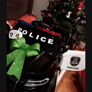 🎉!!BRAND NEW 12V REMOTE CONTROL Electric Big Kid Ride On Car Power Wheels Police Car 🚔 with Built in Music USB MP3 and TF card for Sale in La Mirada, CA
