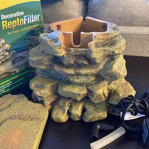 Decorative ReptoFilter (turtle Filter) for Sale in Las Vegas, NV