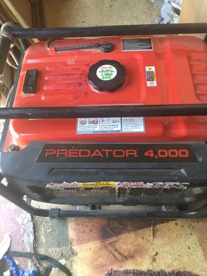 PREDATOR GENERATOR for Sale in Bakersfield, CA