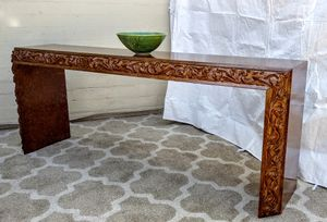 Vintage Long & Low Mid Century Signed Phyllis Morris Console Table Side Table for Sale in Phoenix, AZ