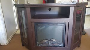 Electric fireplace tv stand for Sale in Vancouver, WA