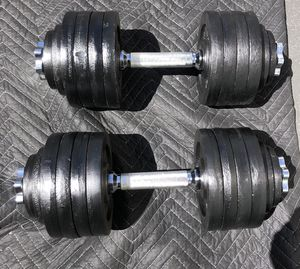 5-52.5 dumbbell set for Sale in Los Alamitos, CA