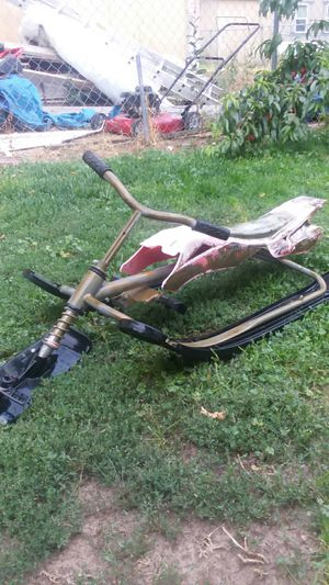 Snowmobile sled not motorized kids will enjoy it for Sale in West Jordan, UT