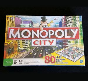 MONOPOLY CITY Edition with 80 3-D Buildings for Sale in Las Vegas, NV