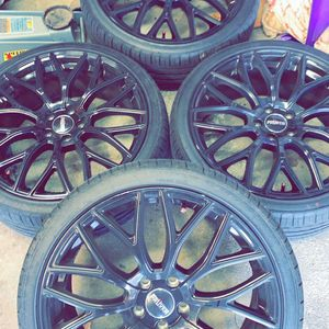 20inch All Black Rims for Sale in Cranston, RI