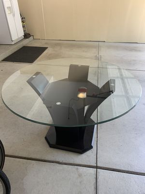 Glass Table for Sale in Troy, MI