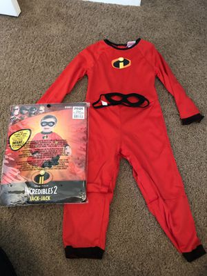 Baby jack-jack costume size 12-24 months for Sale in Clinton Township, MI