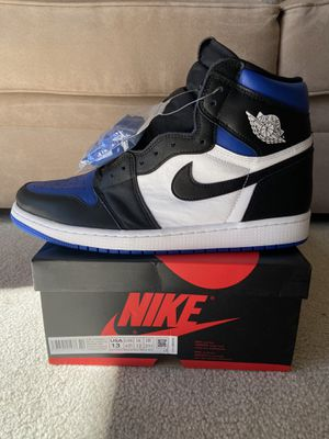 DS Air Jordan 1 Retro High OG Royal Toe Size 13 for Sale in Renton, WA