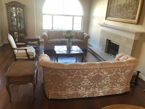 2 beautiful Sherryl sofas and 2 end tables only -Moving for Sale in Yorba Linda, CA