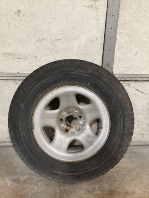 Jeep full size spare wheel / tire for Sale in North Barrington, IL