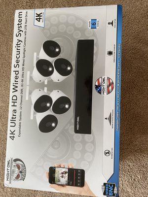 Night Owl Security Cameras 4K for Sale in Oak Lawn, IL
