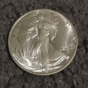 1945 D Waking Liberty Half Silver Coins Bullion for Sale in Dallas, TX