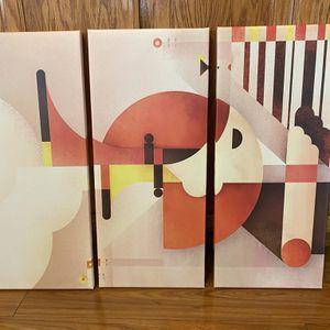 "Design Nature Elegant Modern Canvas Print ( 3-Panels )28"" x 12"" for Sale in Turlock, CA"