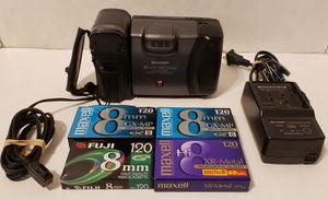 Sharp Viewcam 8mm Camcorder Video Camera VL-E39 for Sale in St. Petersburg, FL