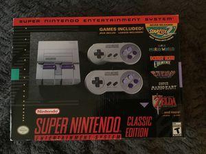 Super Nintendo Classic Edition for Sale in Cedar Hill, TX