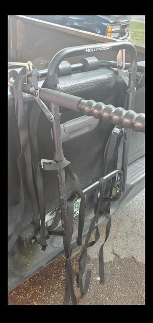 Bike rack up to 4 bikes .. carrier fits cars or truck suv bicycle bicicleta used in great condition ...located on krome and sw 200st for Sale in Homestead, FL