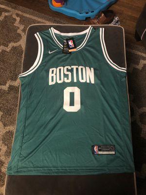 Jayson Tatum Men's Medium Jersey Boston Celtics for Sale in Cherry Hill, NJ