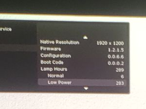 InFocus IN5504 5000 Lumen 1080P projector for Sale in Lexington, KY