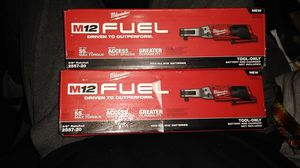 Milwaukee M12 Fuel Brushless Ratchets for Sale in Spring Valley, CA