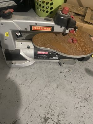 Craftsman 16in scroll saw for Sale in Fort Worth, TX
